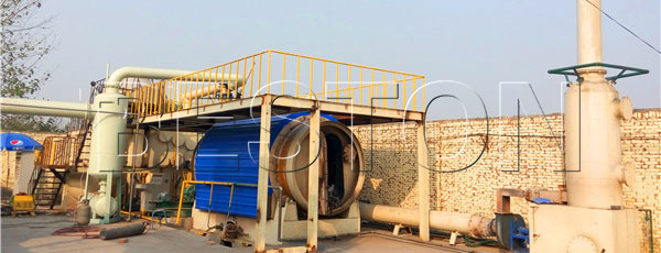 Beston Small Scale Tyre Recycling Plants for Sale