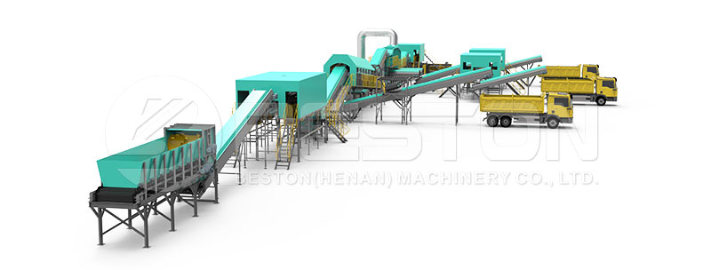 Waste Sorting Machine Design