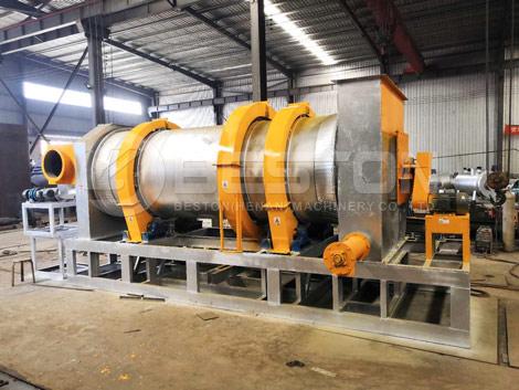 Biomass Pyrolysis Machine With New Design